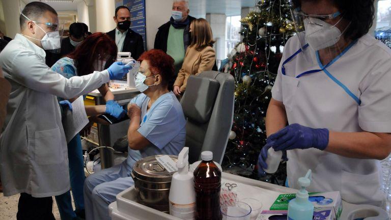 Първият етап от ваксинацията срещу Ковид -19 в Пловдивска област,