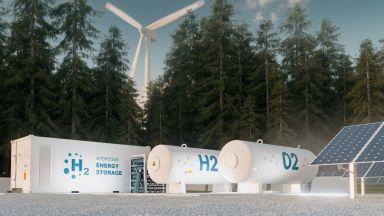Германска компания изгражда първото си пробно хранилище за водород