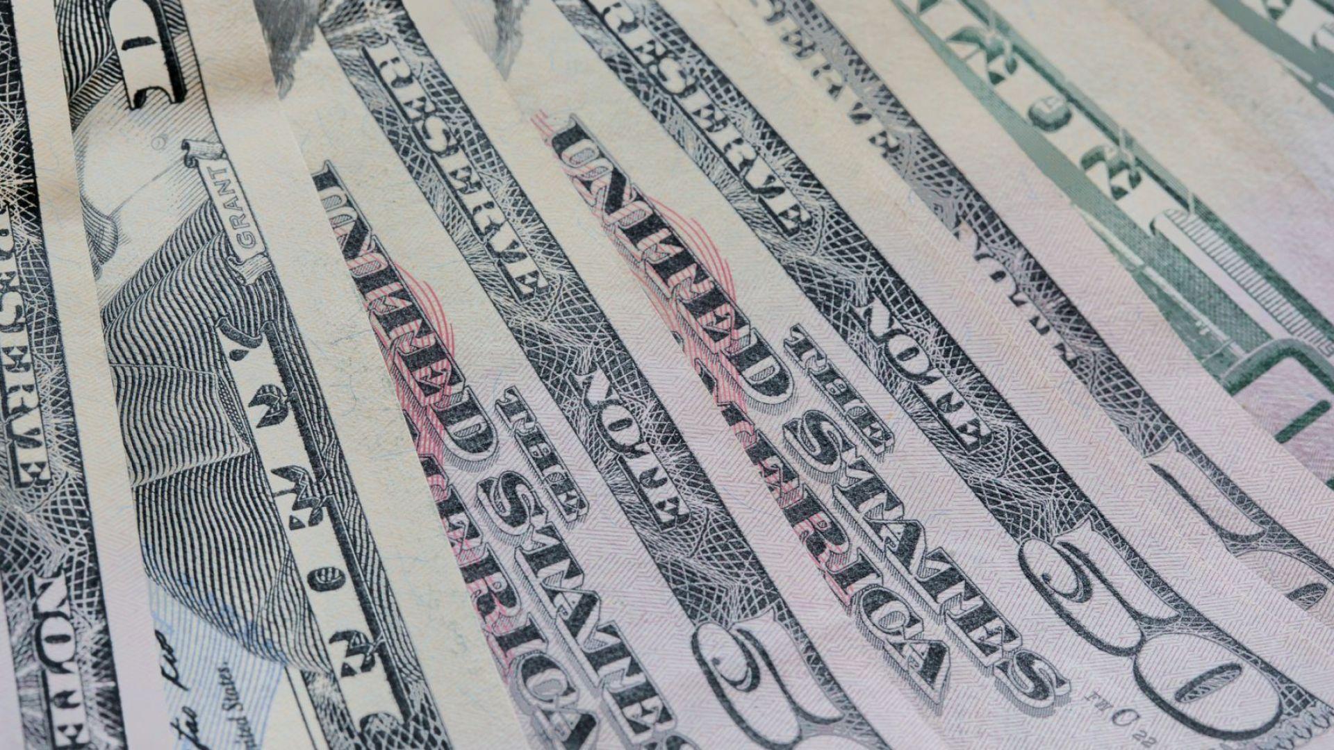 Доларът потъна до най-ниското си ниво от април 2018-а