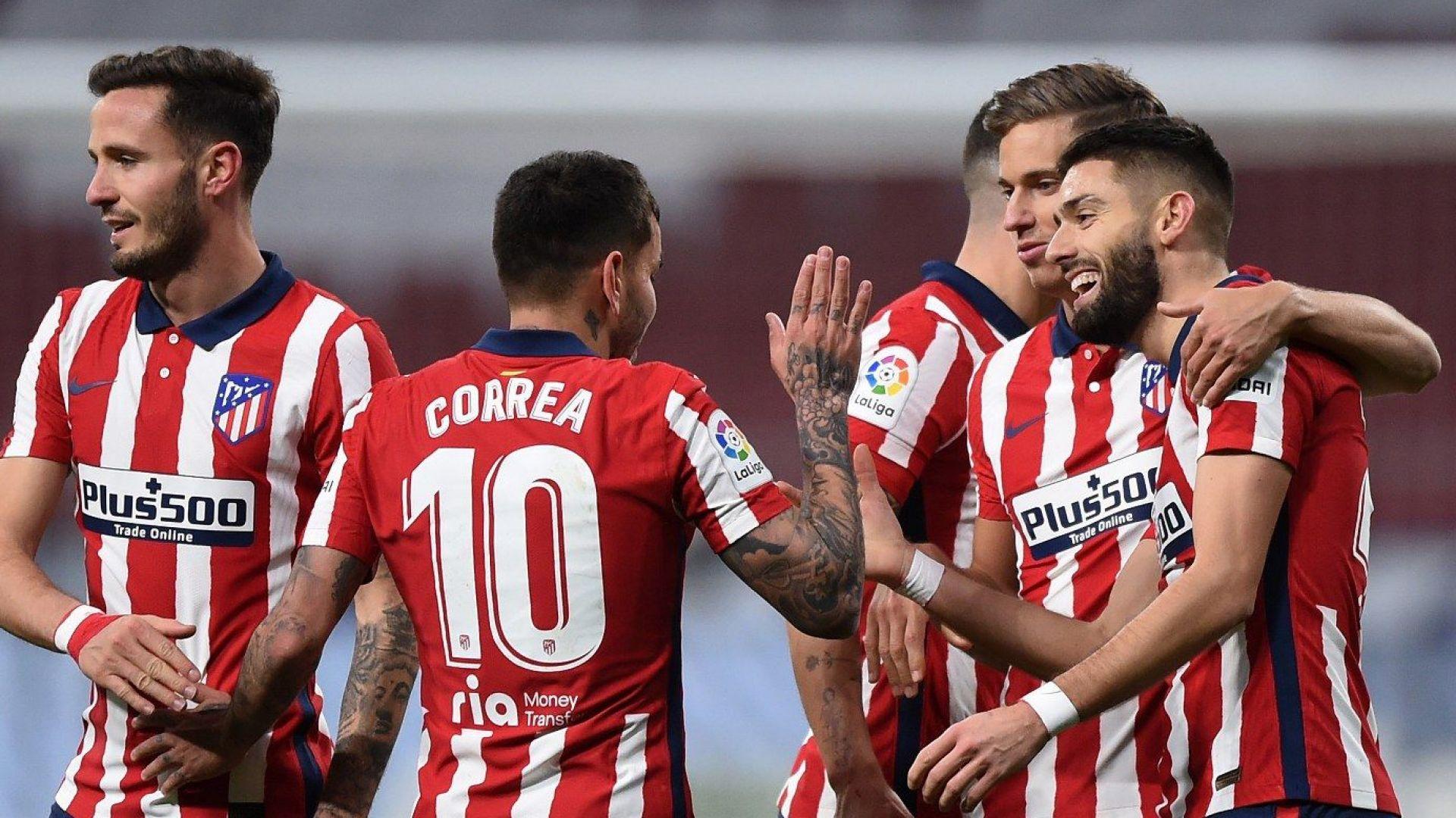 Реал затвори годината си с провал, вечерта принадлежи на Суарес и Атлетико