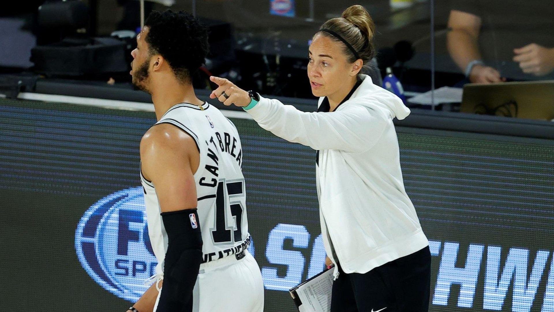 За първи път жена води отбор в НБА - и то срещу ЛеБрон Джеймс и шампионите