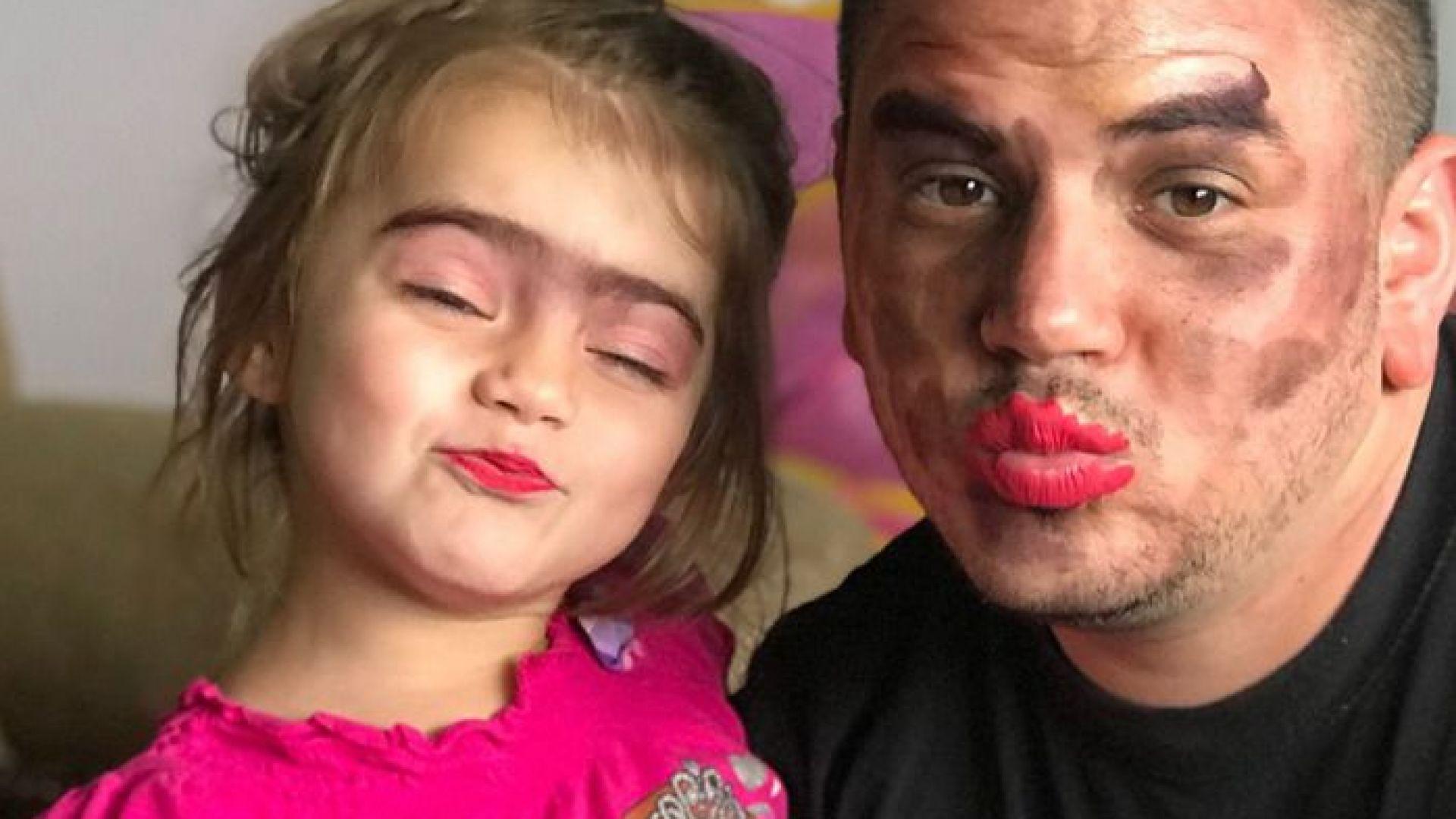 30 бащи, които позволиха на малките си дъщери да ги разкрасят