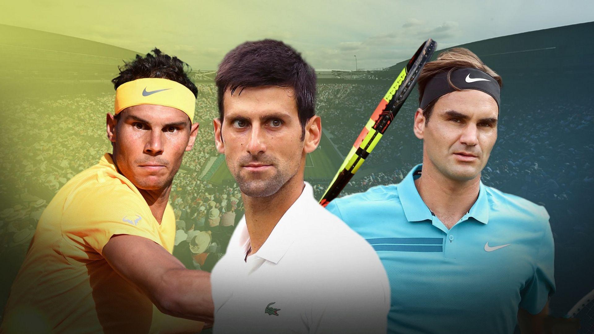 Битката на Триумвирата в тениса не е приключила. Кой какво ще преследва през тази година?