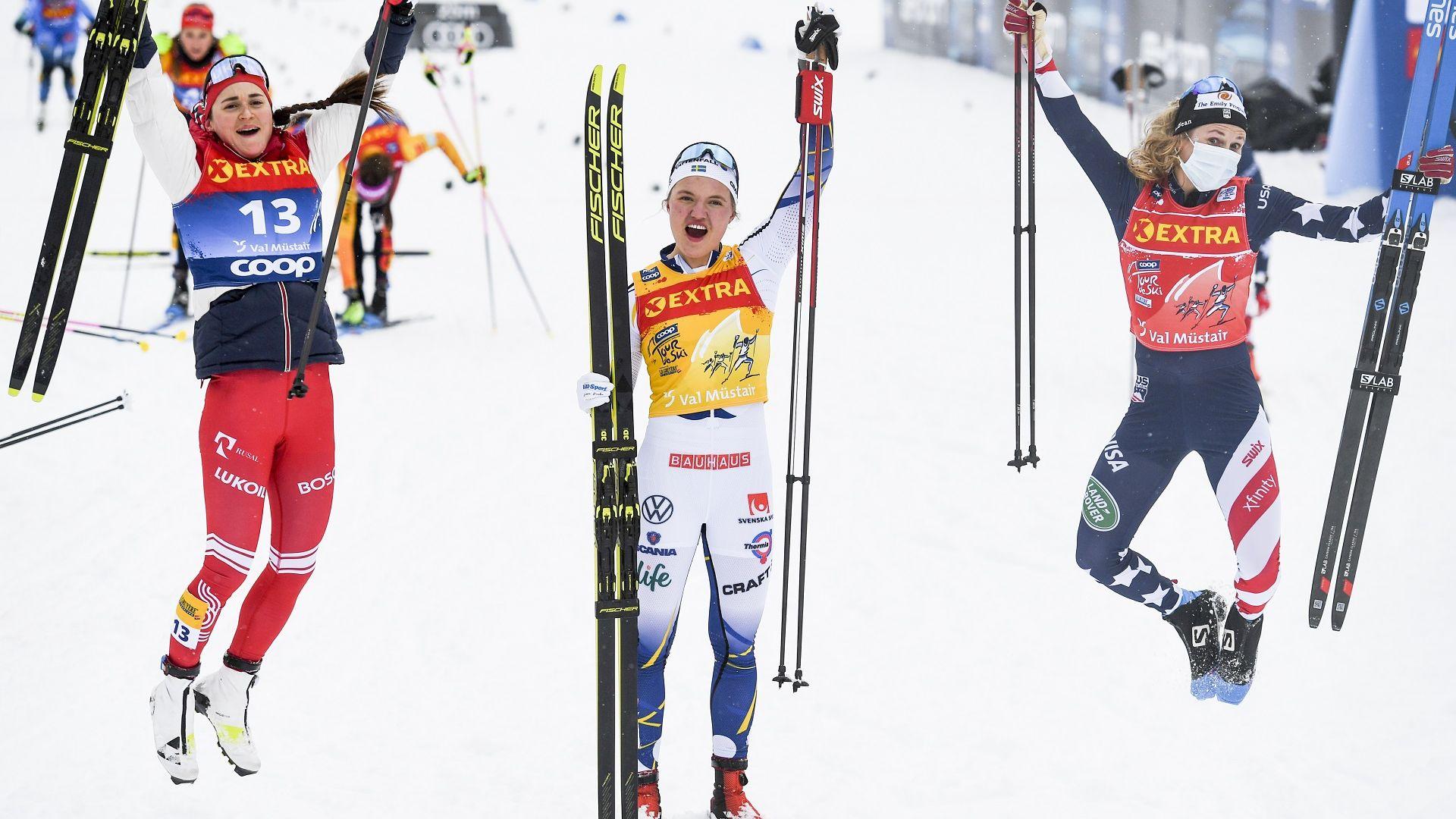 """Нов триумф за Лин Сван на """"Тур дьо ски"""""""