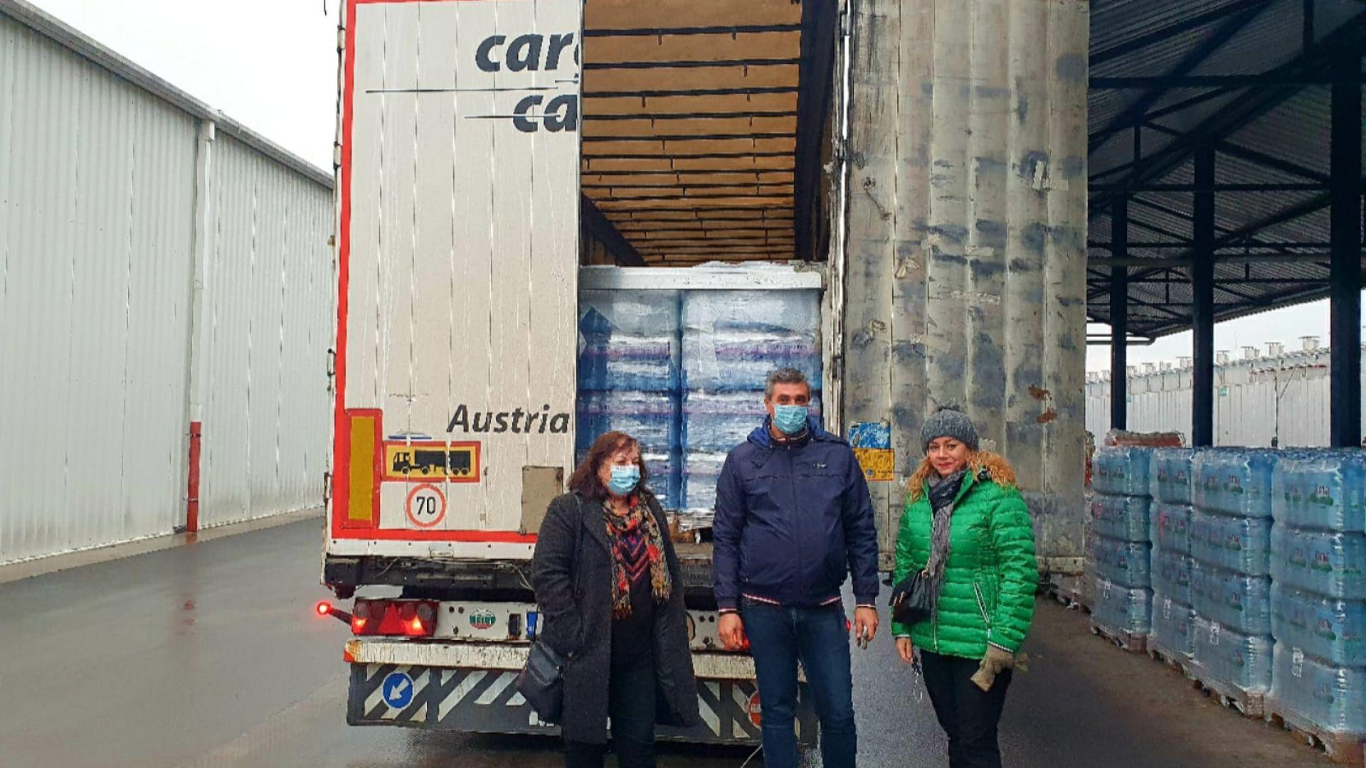 376 труса в Хърватия от 28 декември насам, пристигна първият тир с вода от България