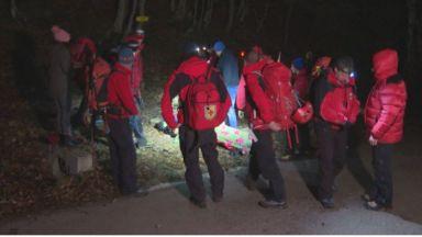 Спасителната акция в Стара планина продължи 8 часа, двама са най-тежко ранените