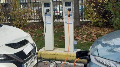 Изграждат 199 зарядни станции за електромобили в цялата страна с европейски пари