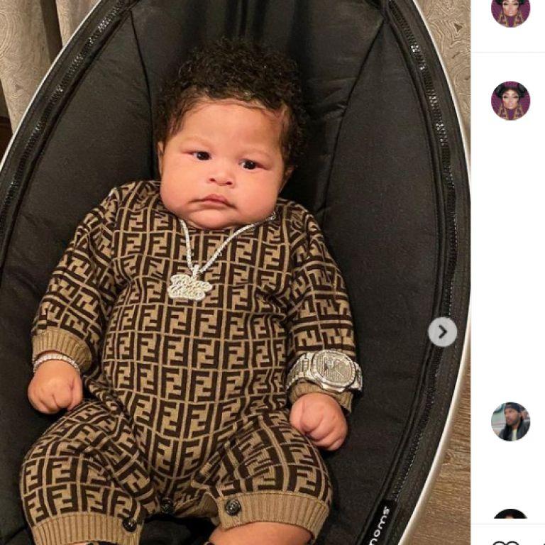Ники Минаж сподели за първи път снимки на бебето си