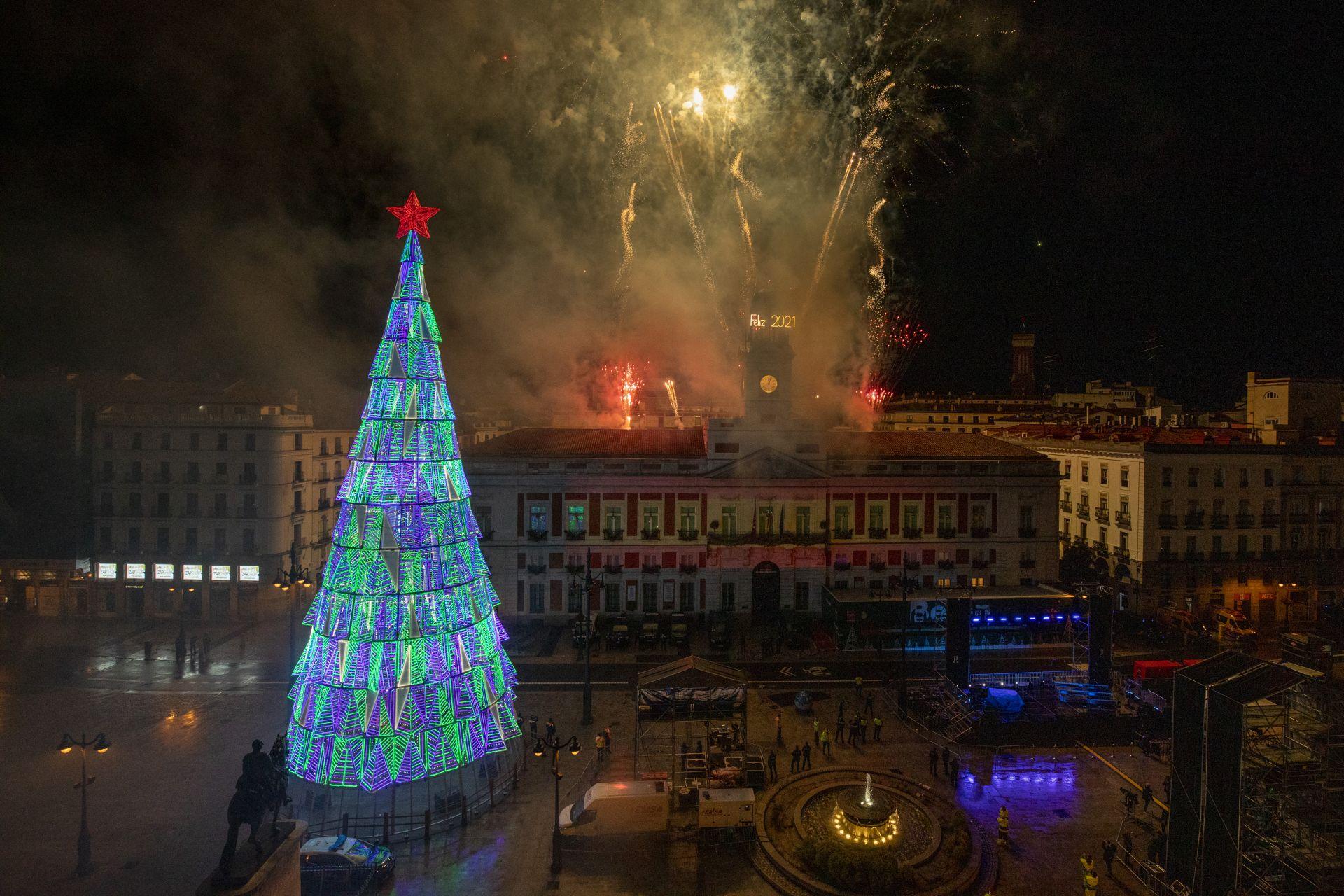 Нова година в Испания