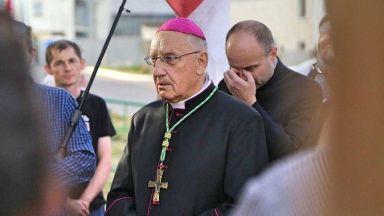 Главата на Католическата църква в Беларус се оттегли, не може да се прибере от Полша