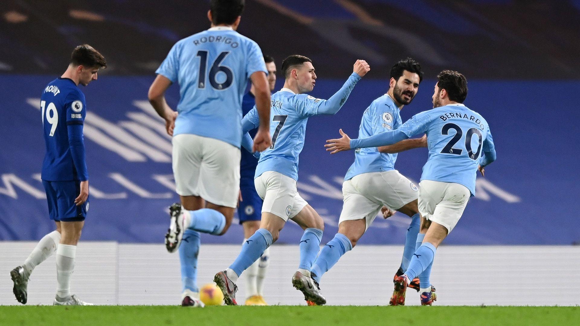Сити се развихри насред Лондон и изигра най-силния си мач през сезона