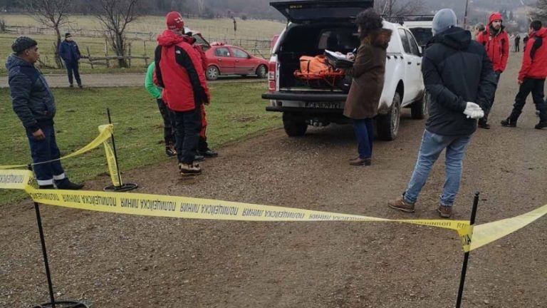 Около 14.30 часа днес спасители свалиха тялото на загиналия в