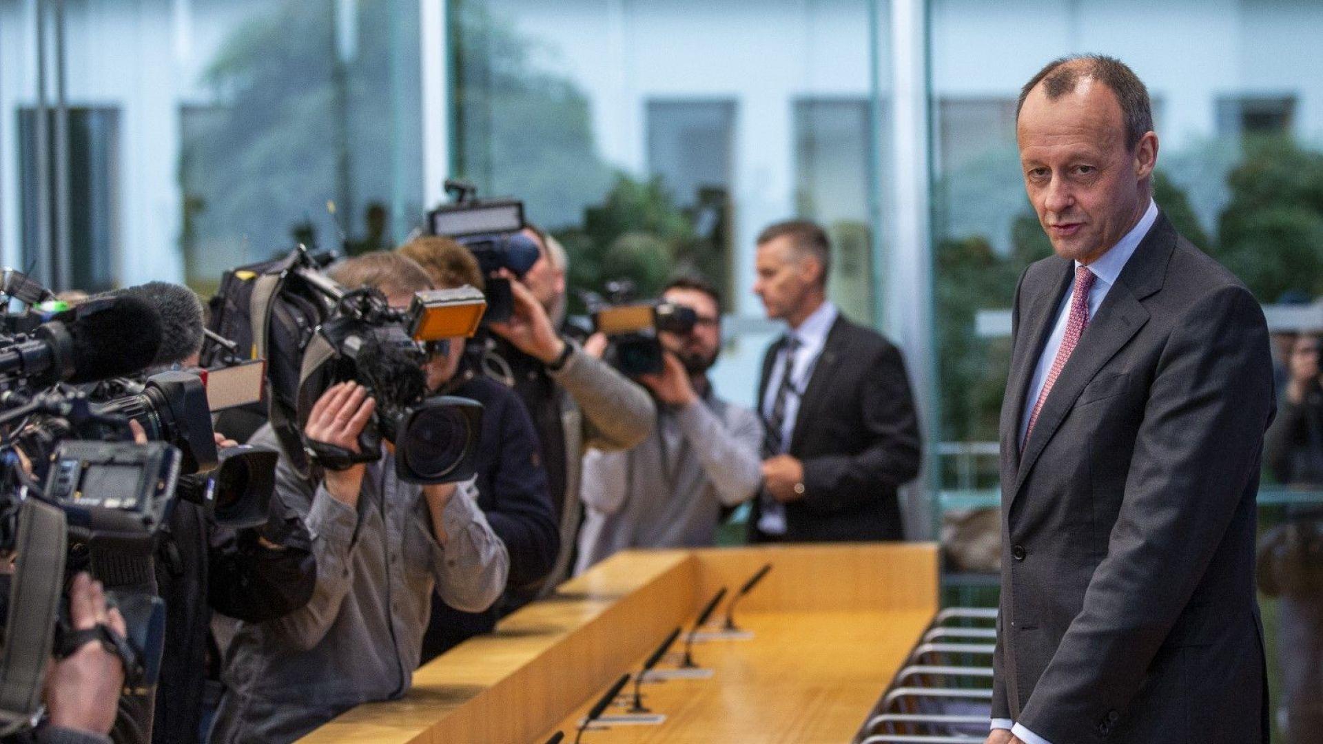 Възможен наследник на Меркел лансира британски модел за Турция, а и за Русия