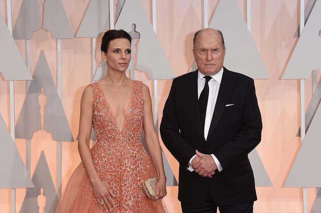 Робърт Дювал със съпругата си Лусиана Педраса