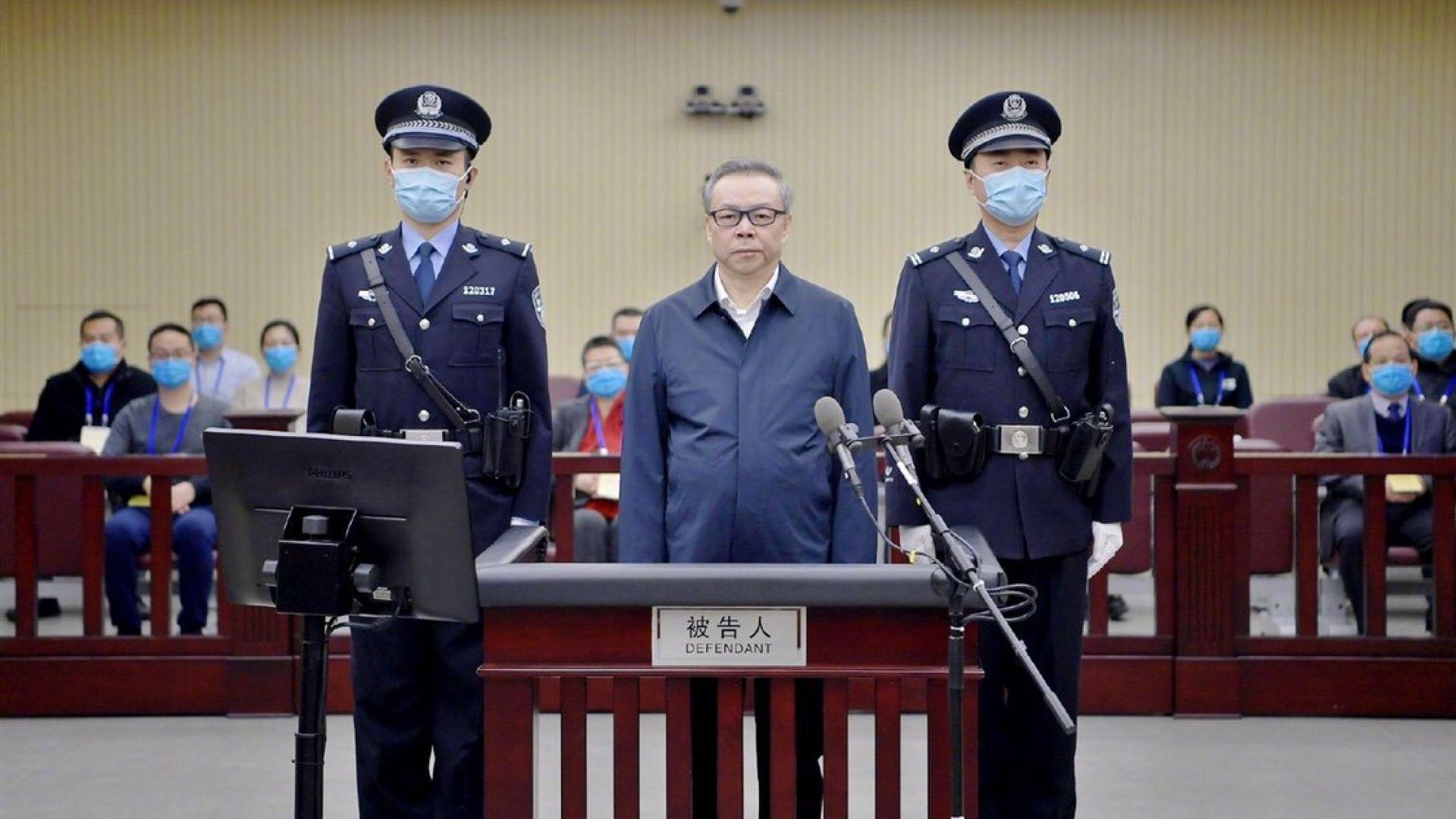 Осъдиха на смърт бивш партиен секретар в Китай - за  215 млн. евро подкупи и полигамия