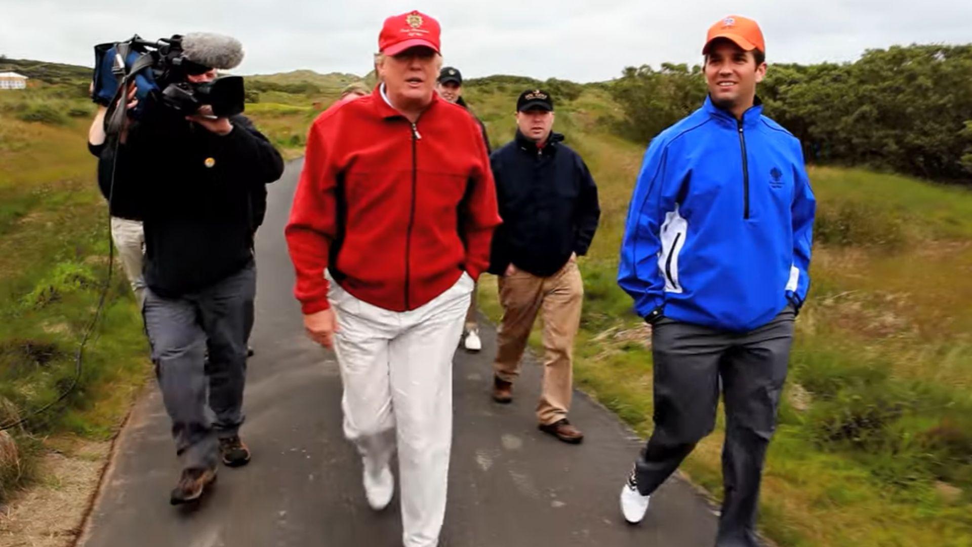 Шотландският парламент отхвърли разследване на покупката на две голф игрища от Тръмп