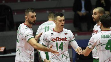 Волейболистите ни спечелиха и третия мач срещу Северна Македония