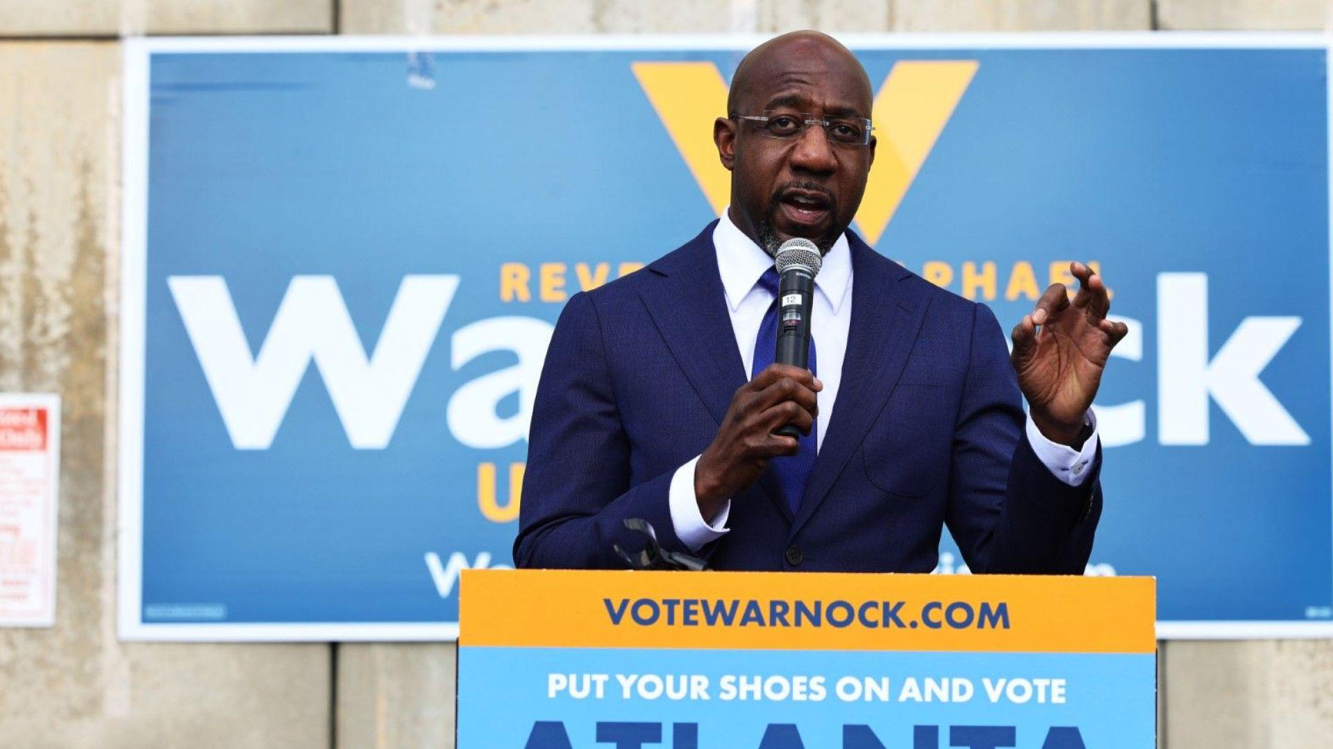 Демократите вероятно печелят едното място в Сената от Джорджия, кой ще вземе второто