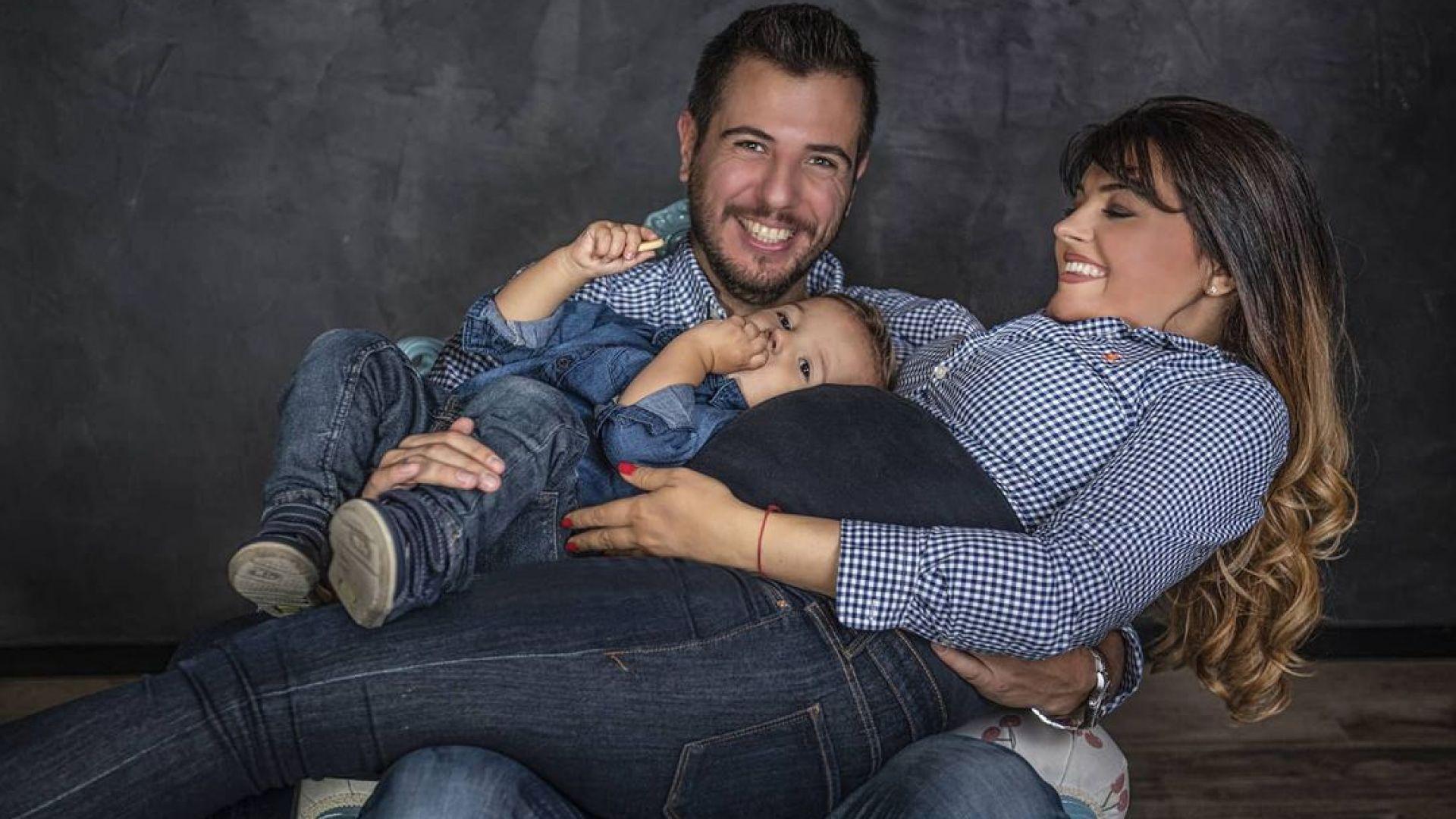 Петя Дикова и Илиян Любомиров показаха новородения си син