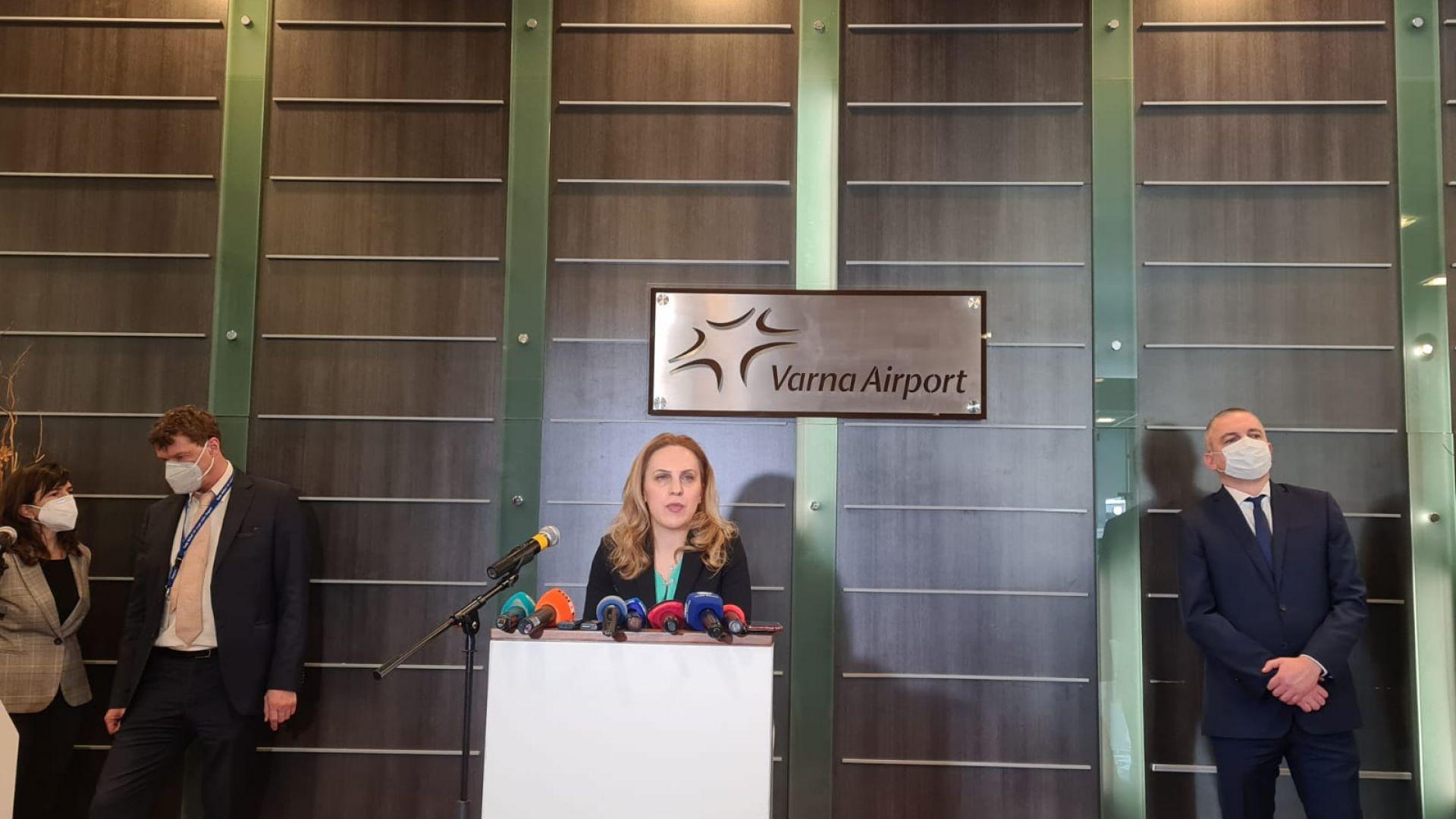 3,5 млн. лева са изплатени на туроператорите за чартърните полети