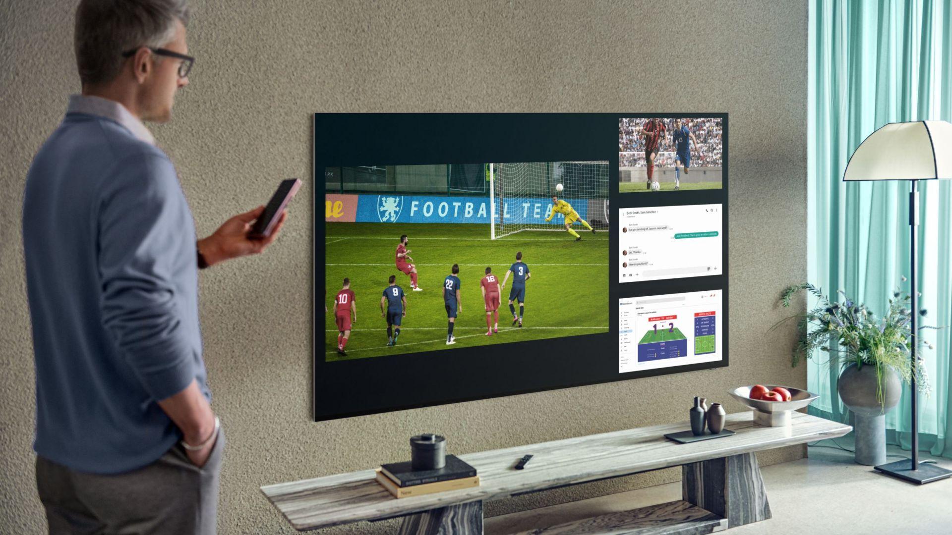Samsung разкри първите си телевизори за 2021 г.