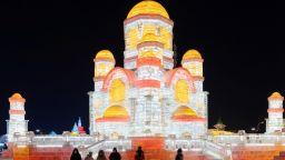 Най-големият празник на леда в Харбин е под знака на древния Път на коприната