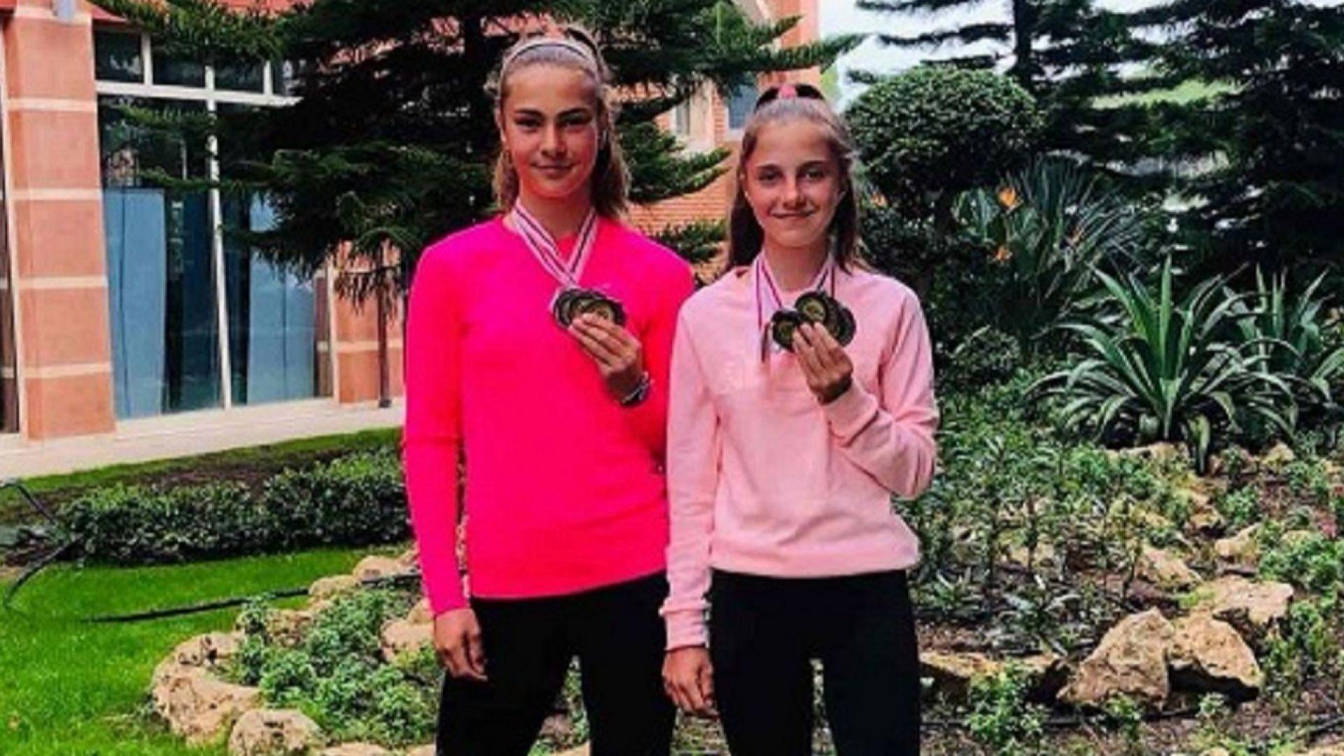 Българки са първа и втора в тенис ранглистата до 14 години