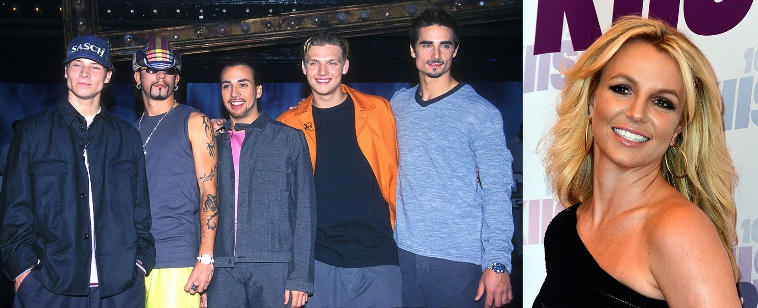 Backstreet Boys - Бритни Спиърс