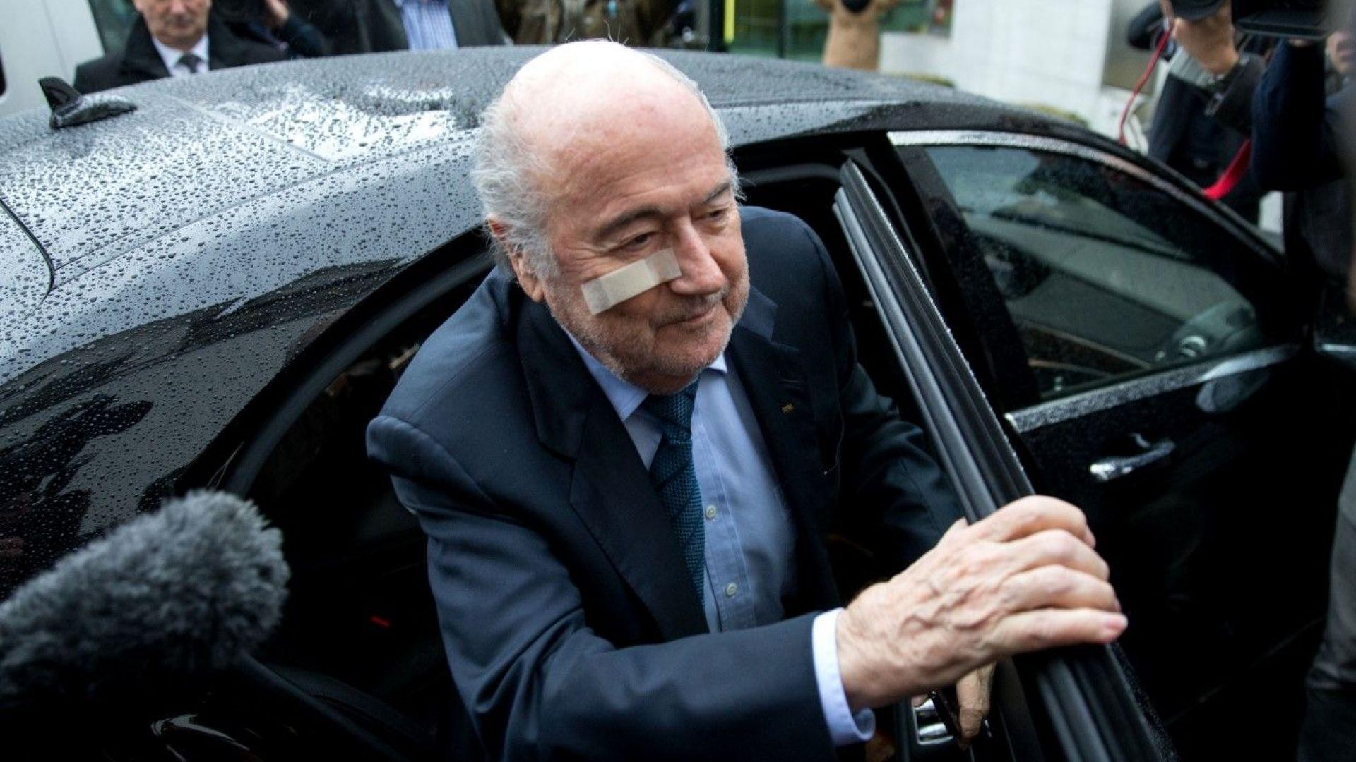 Бившият президент на ФИФА Сеп Блатер е приет в болница