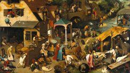 Питер Брьогел Стари - един от най-големите художници на Ренесанса