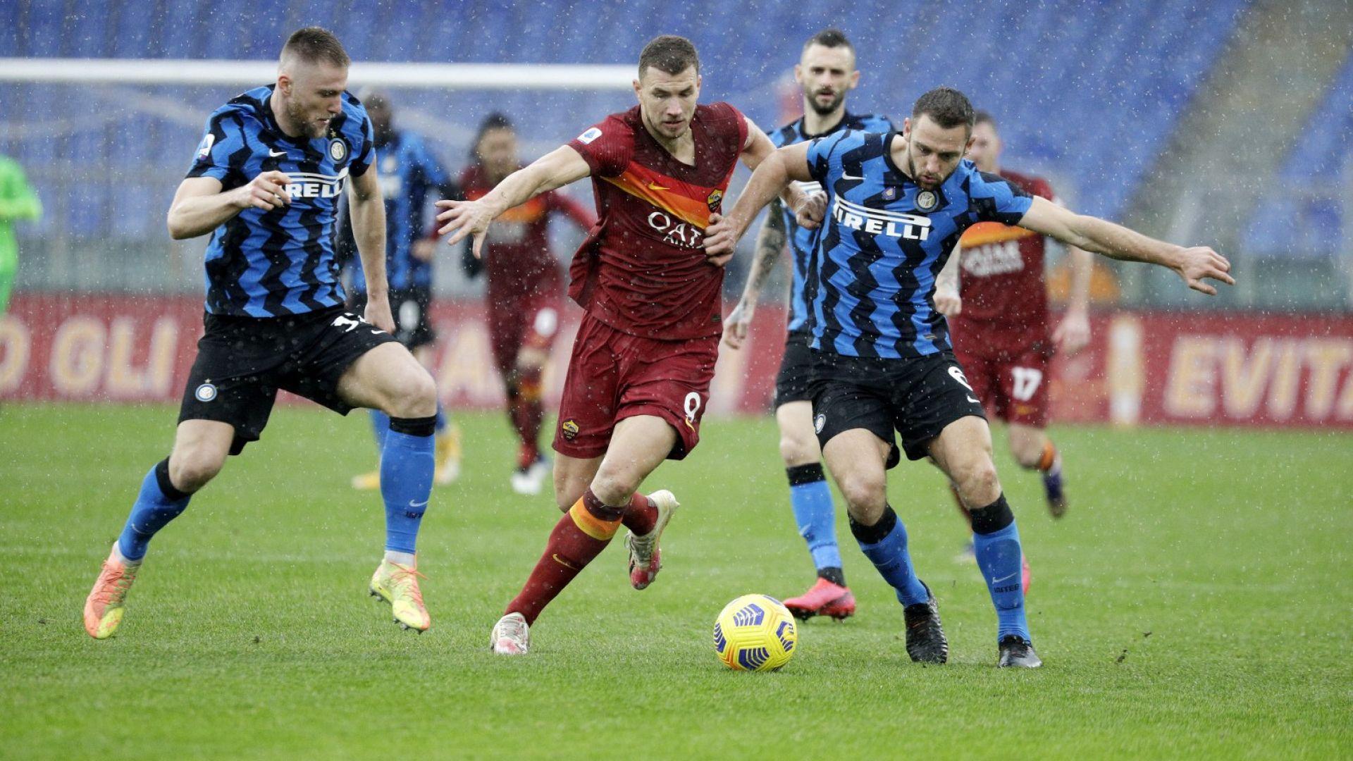 Супер дерби между Рома и Интер, но те вече 3 години не могат да се победят