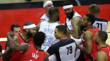 Втори мач от сезона в НБА пропадна заради вируса