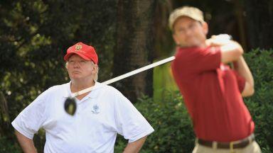Политика или спорт? Отнеха от голф комплекса на Тръмп домакинството на Мастърс турнир