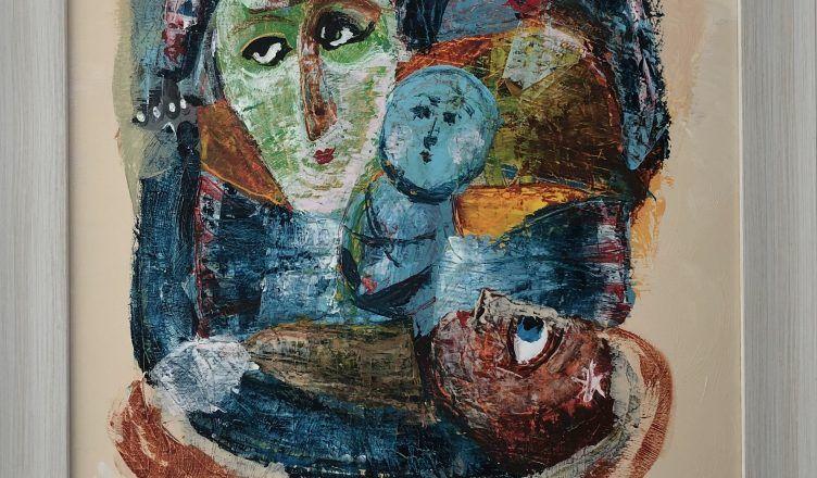 """картината на Зуека """"Раждане"""""""