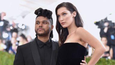 Weeknd се е вдъхновил от бившата си половинка Бела Хадид за лицето си в новия си клип