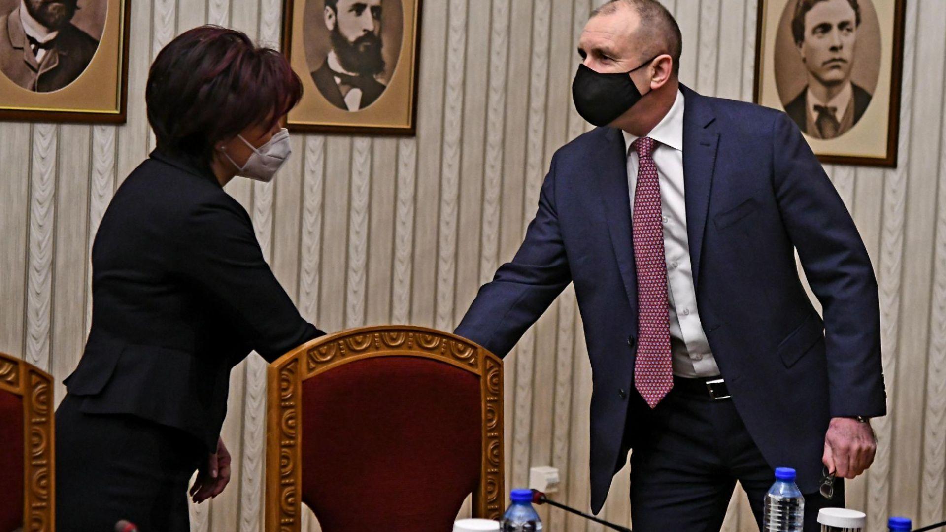 Цвета Караянчева: Президентът и екипът му показват абсолютна некомпетентност