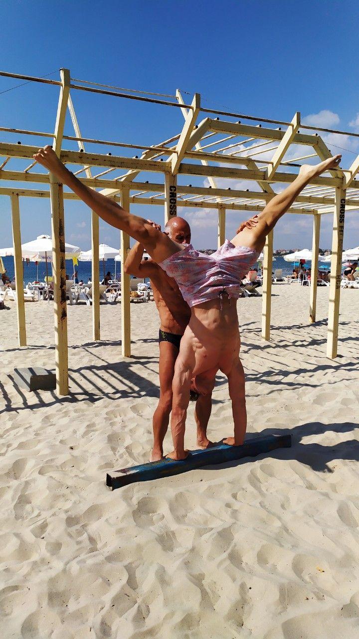 Ваканция на плажа  - Филип не спира да спортува