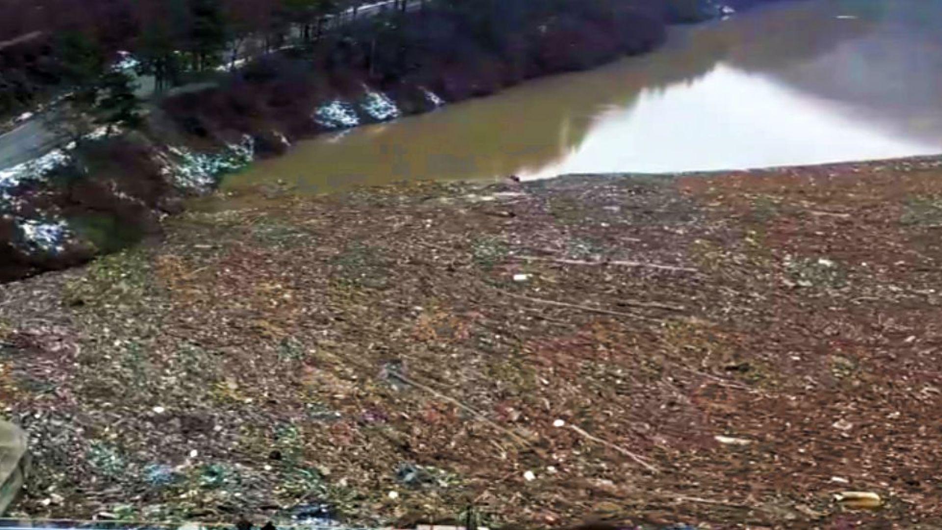 След наводненията: Огромни плаващи сметища задръстиха реки (снимки)