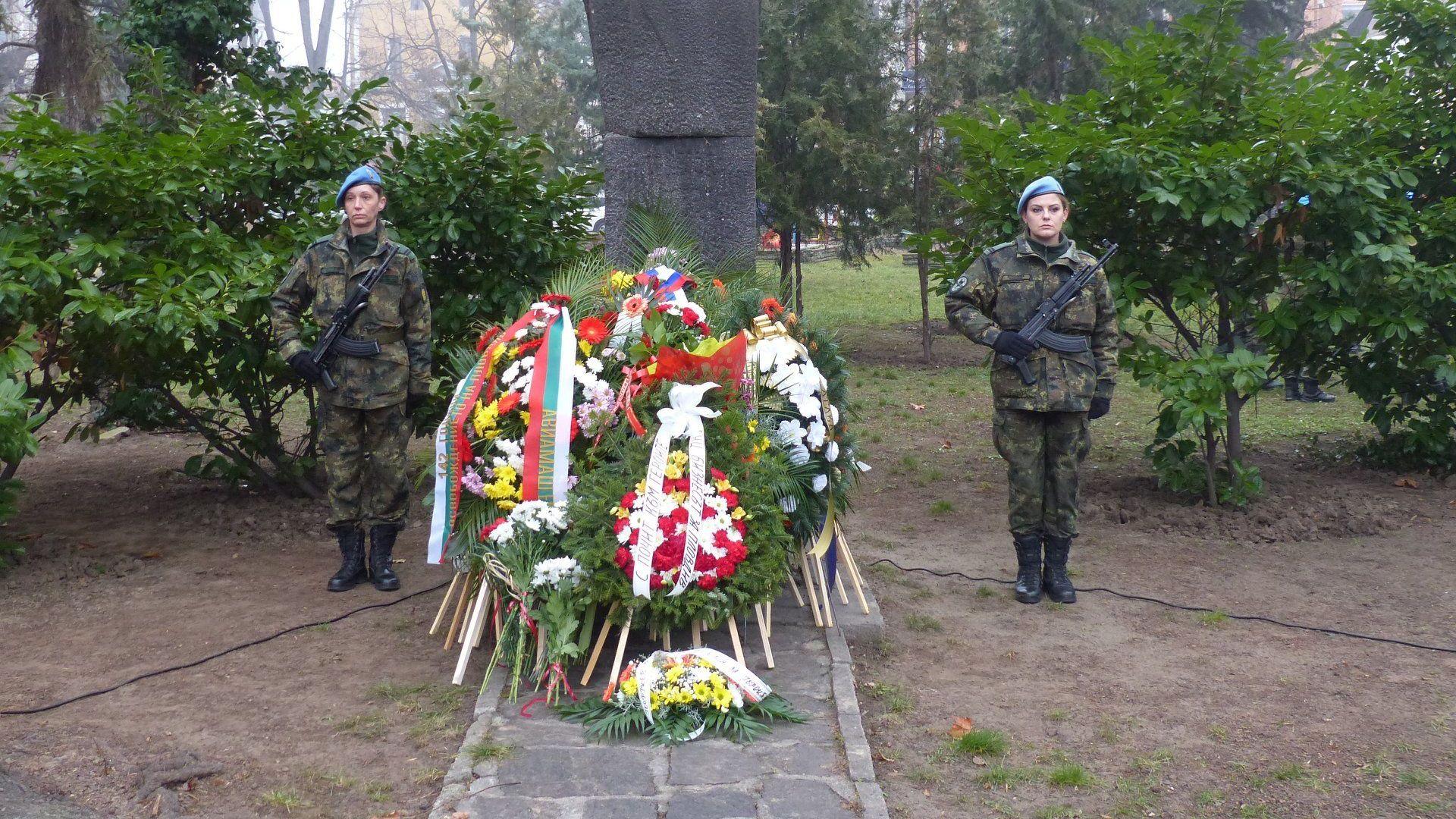 Военна церемония в Пловдив по случай празника за Освобождението на града