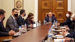 """Президентът изслуша и идеите на """"Движение 21"""", ДБГ и """"Волт"""" за изборите"""