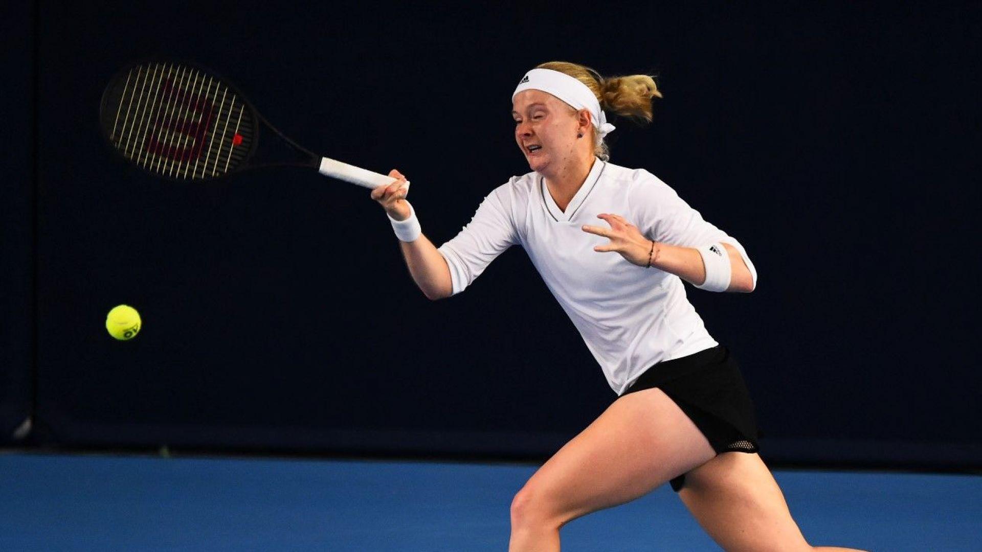 Тенисистка с рядко заболяване и 5 пръста по-малко ще играе на Australian open