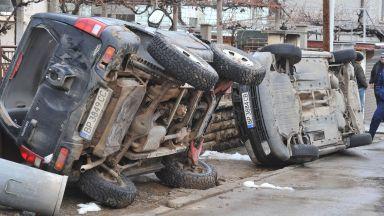 Жандармерия блокира Мездра след безредиците заради загиналия Томи (снимки)