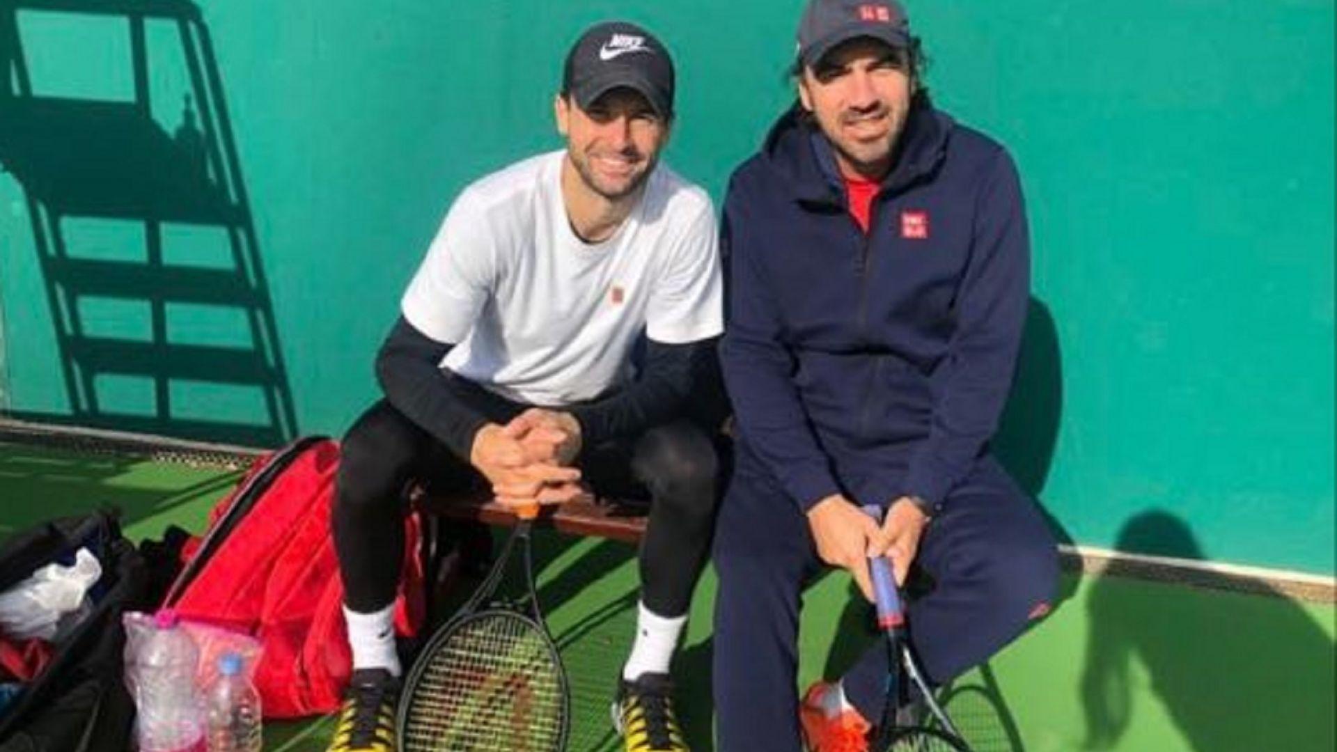 Григор заминава за Австралия с новия си треньор