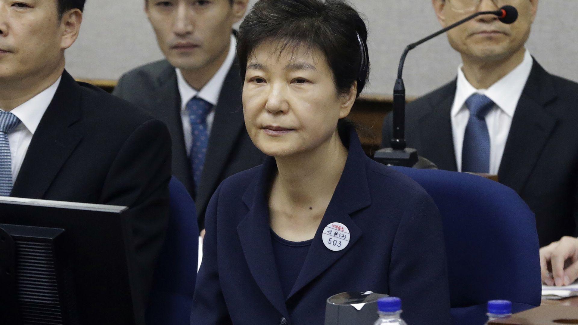 Върховният съд потвърди: 20 г. затвор за бившата президентка на Южна Корея Пак Гън-хе