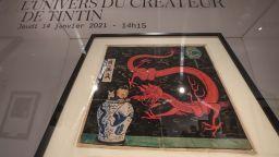 Рисунка от книжка за Тентен беше продадена за над 3 милиона евро