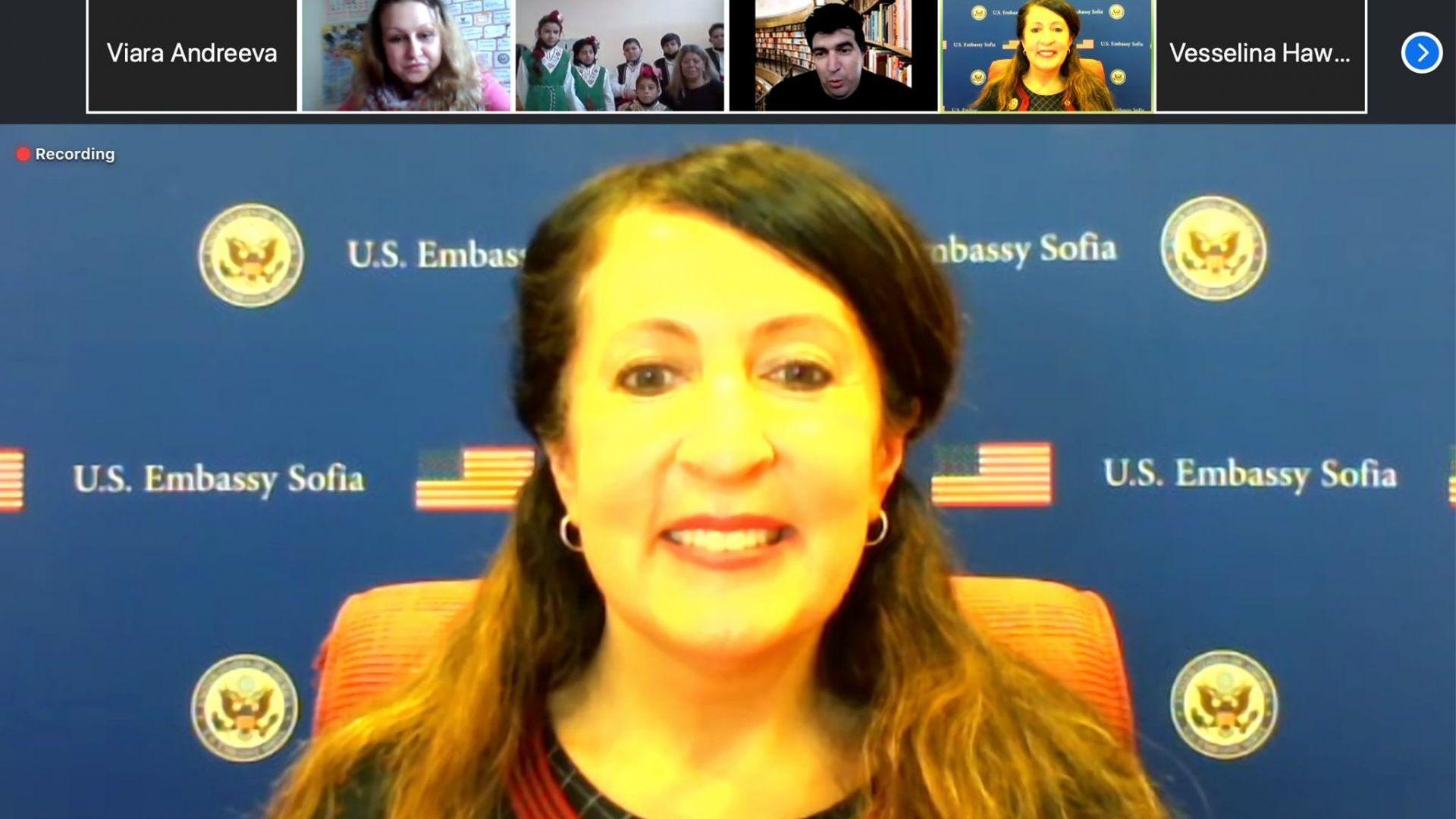 Американският посланик отпразнува Банго Васил