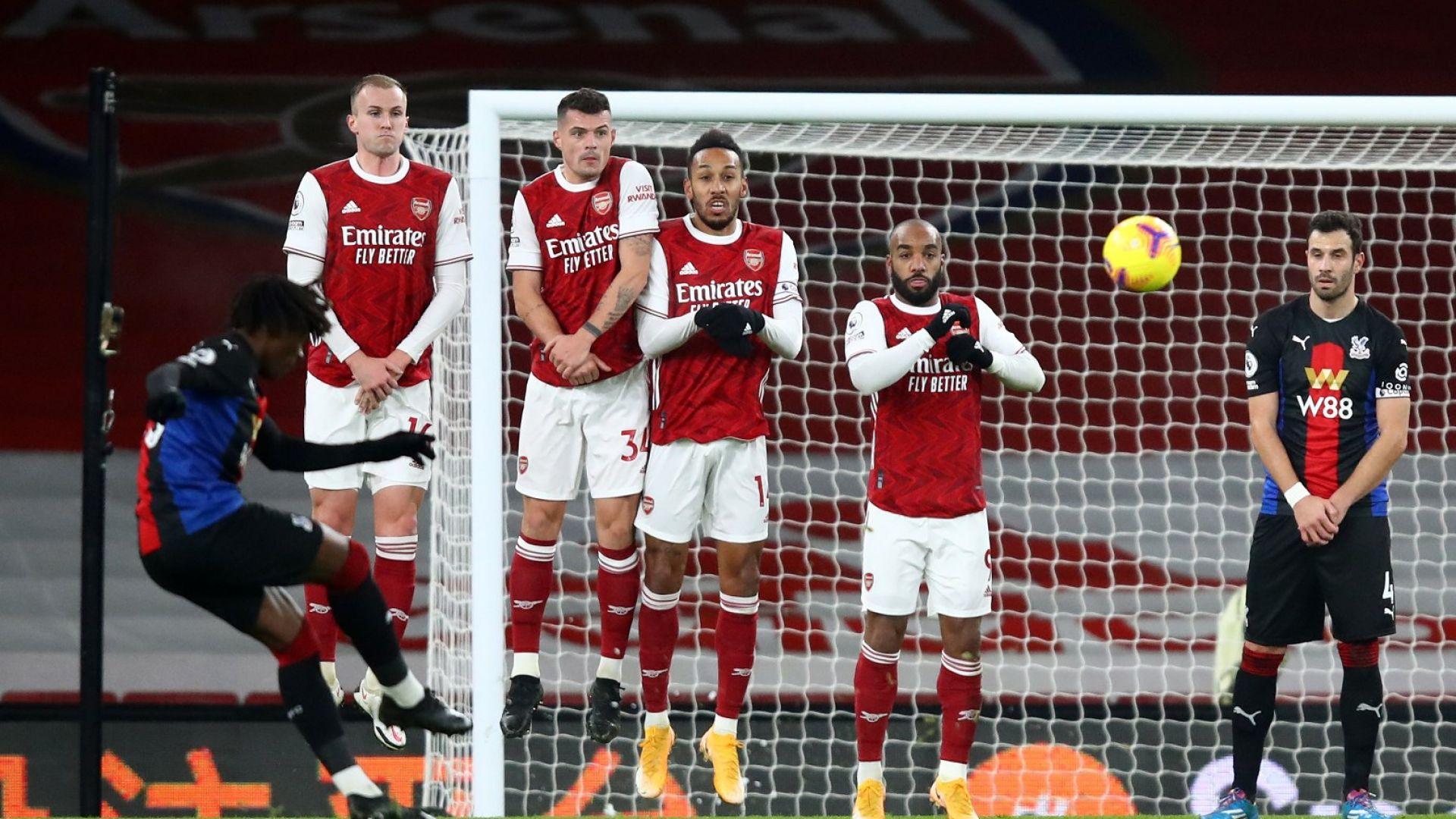 """Лондонски """"орли"""" спряха победния устрем на Арсенал"""