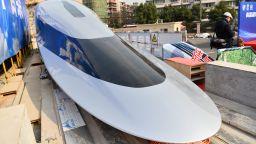 Китай демонстрира супер бърз маглев влак