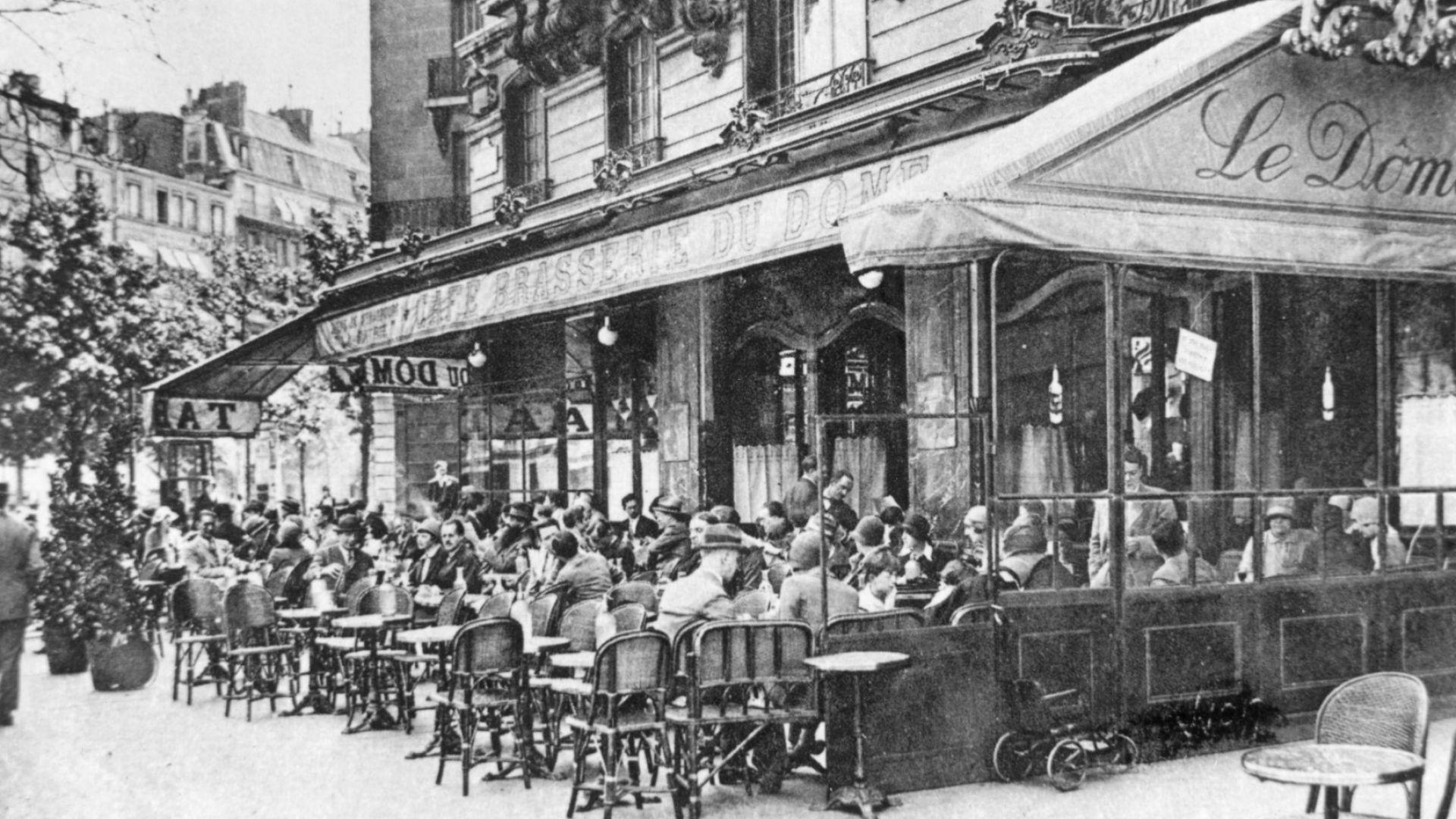 Кафене в Монпарнас