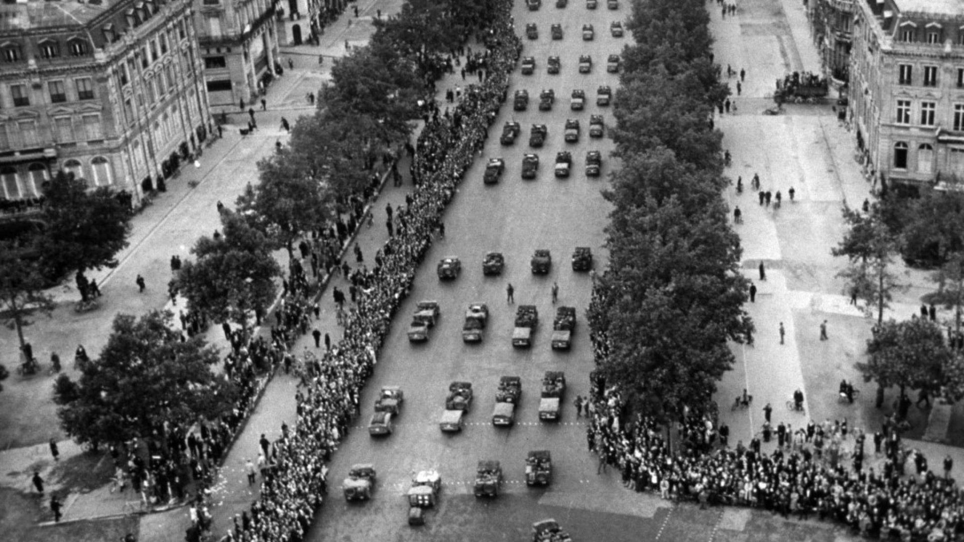 Военният парад на свободата след края на Втората световна война